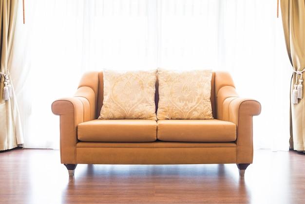 Niebieskie poduszki meble wystrój mieszkalnych