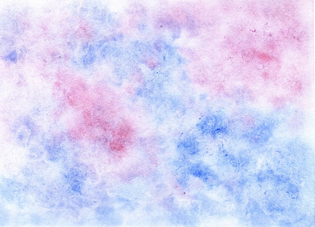 Niebieskie różowe akwarele płynne tło z efektem marmuru miękki druk kolorowy na tekstyliach