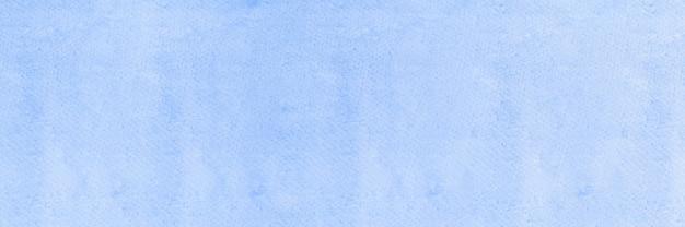 Niebieskie tło akwarela abstrakcyjna niebieska tapeta z akwarelą ilustracja banner