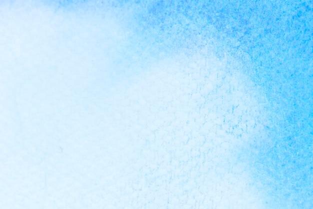 Niebieskie tło akwarela dla tekstur i tła