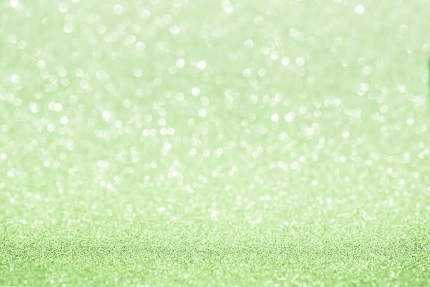 Niebieskie tło bokeh. efekt światła niebieski zielony odblaskowy bokeh.
