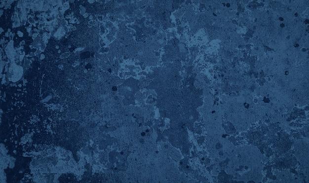 Niebieskie Tło Brudnej ściany Pomalowanej Premium Zdjęcia