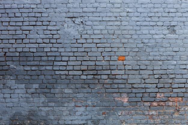 Niebieskie tło cegły