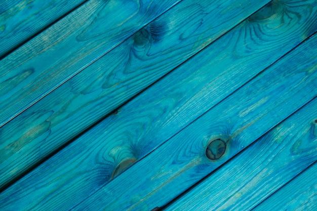 Niebieskie tło drewna
