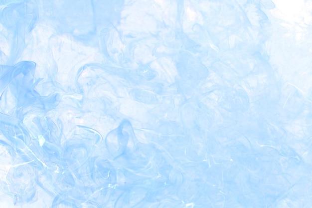 Niebieskie tło dymu, teksturowana tapeta w wysokiej rozdzielczości