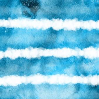 Niebieskie tło farba akwarelowa tło
