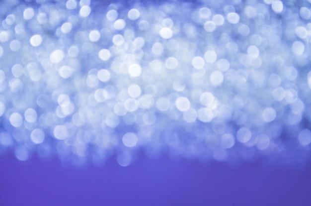 Niebieskie tło gradientowe bokeh