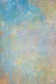 Niebieskie tło nieczysty ściany