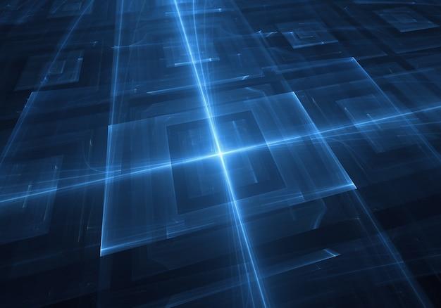 Niebieskie tło technologii tapety