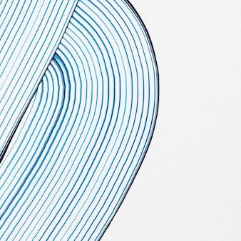 Niebieskie tło teksturowane wzór fali abstrakcyjnej sztuki