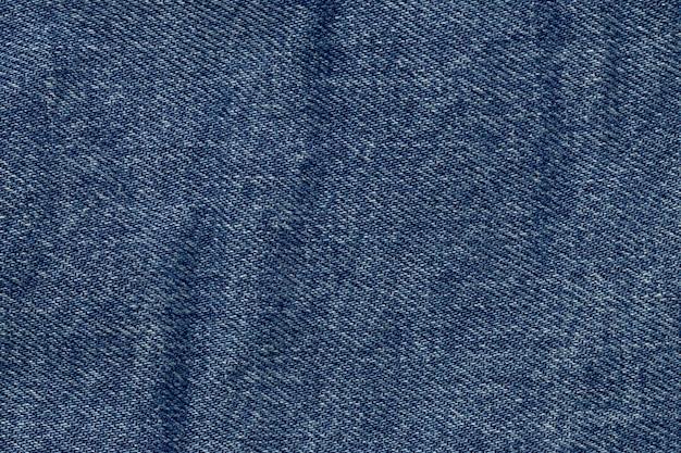 Niebieskie tło tekstury drelichu
