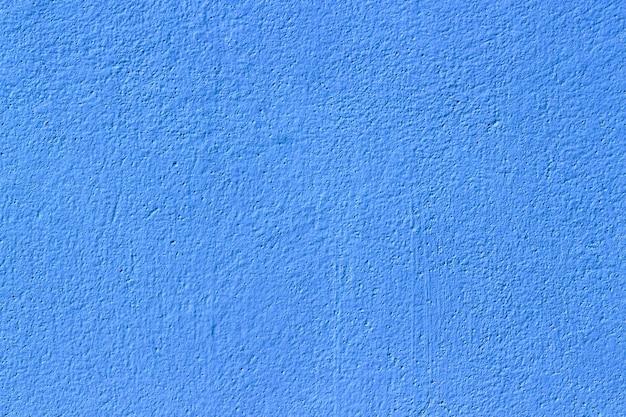 Niebieskie tło tekstury powierzchni ściany