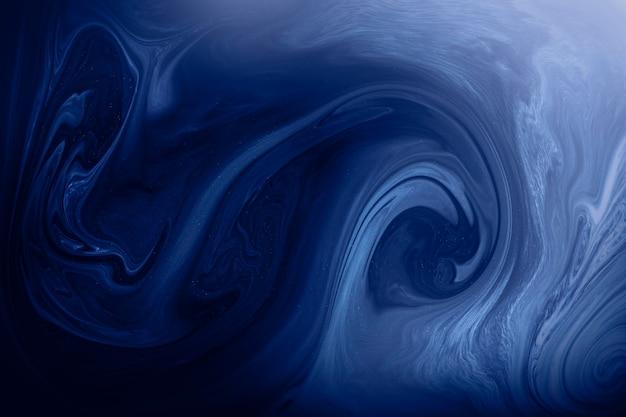Niebieskie tło wzorzyste płynne