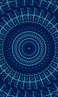 Niebiesko-niebieski krawat barwnik granicy tła krawędzi. pomalowany akwarelą pasek boczny. boho nowoczesny abstrakcyjny element projektu sieci web, przegroda lub ozdobny atrament tło dla telefonu komórkowego. obraz pionowy.