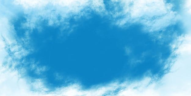 Niebo i chmura kształtu abstrakcyjnej powierzchni