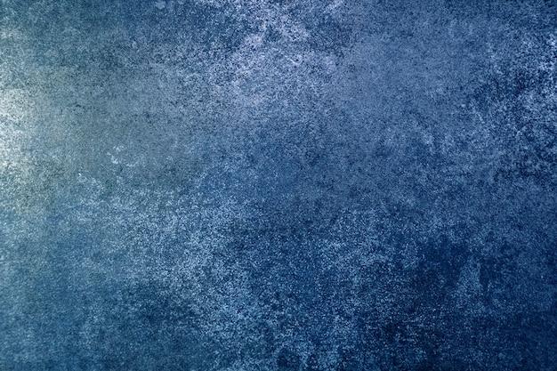 Nieczysty metalowy niebieski tekstury tła ze stali