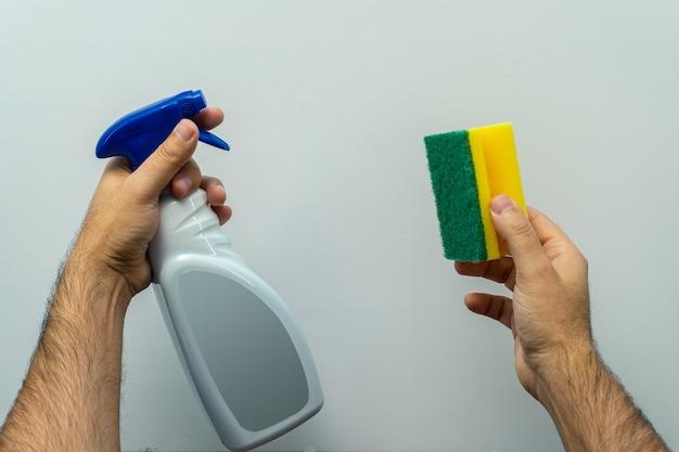 Niektóre narzędzia do dezynfekcji i chroniły nas