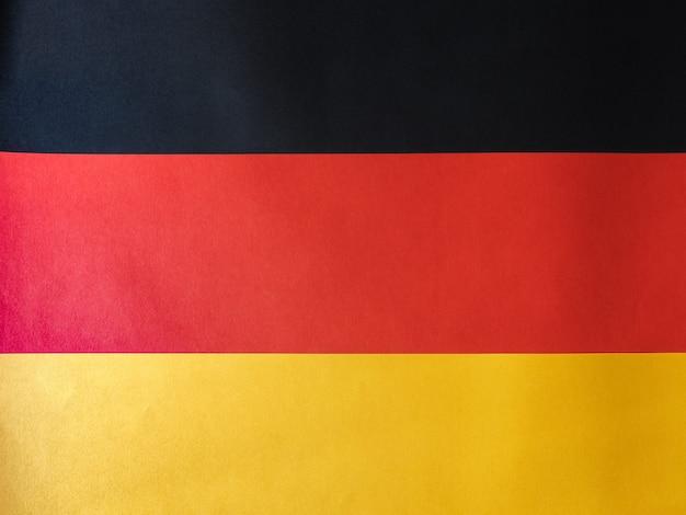 Niemiecka flaga niemiec