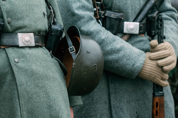 Niemiecki żołnierz ii wojny światowej