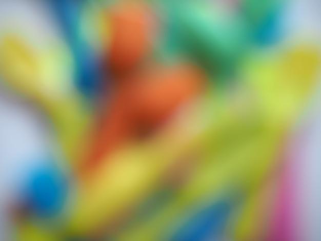 Nieostre kolorowe plastikowe tło