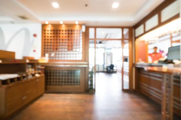 Nieostre restauracji wejście
