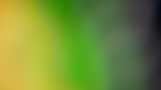 Nieostre tło gradientowe zielony