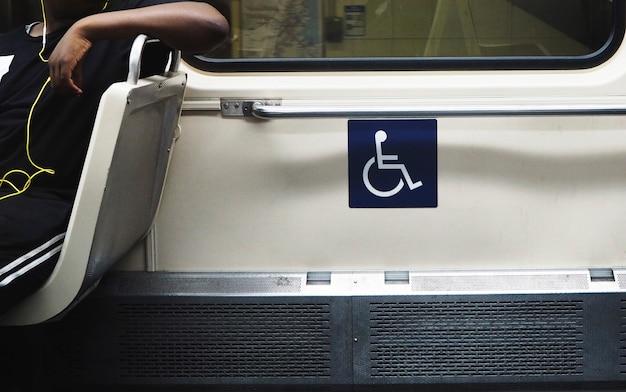 Niepełnosprawni znak