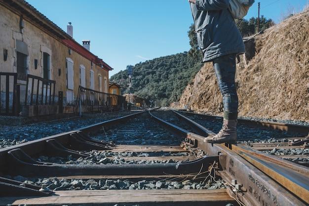 Nierozpoznana pozycja turystyczna na linii kolejowej