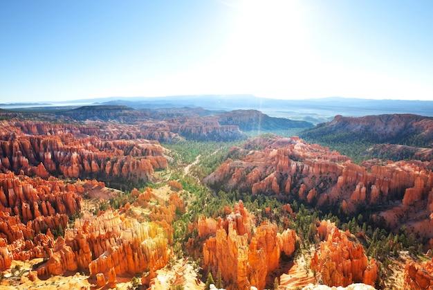 Niesamowity bryce canyon, niezwykłe krajobrazy utah, usa