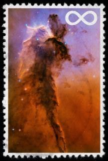 Nieskończona przestrzeń stamp