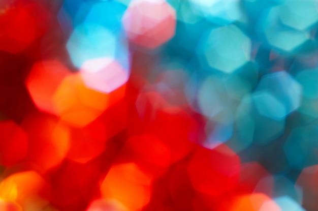 Niewyraźne kolorowe światło