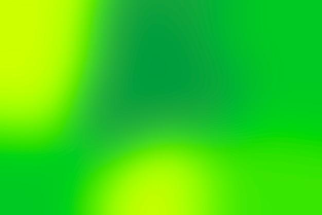 Niewyraźne pop streszczenie tło w zimnych kolorach - zielony i żółty
