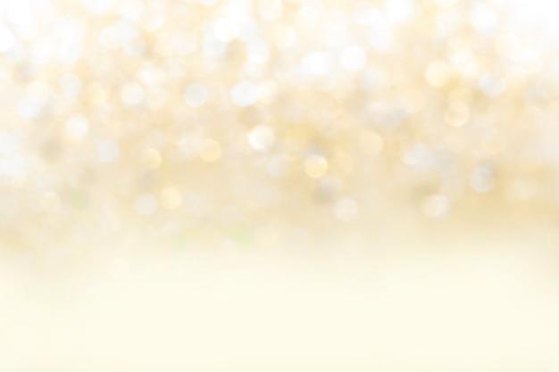Niewyraźne streszczenie tło żółty bokeh