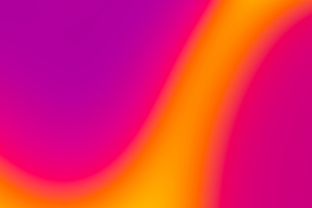 Niewyraźne tło abstrakcyjne pop w ciepłych kolorach - fioletowy, pomarańczowy. różowy i żółty