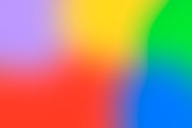 Niewyraźne tło gradientowe z żywych kolorów podstawowych