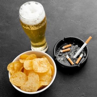Niezdrowe złe nawyki