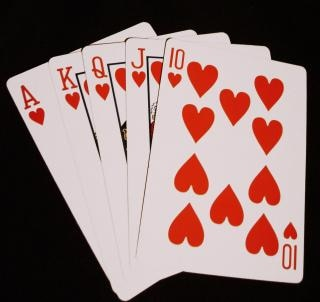 Night poker, serca