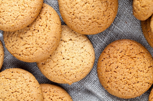 Niskokaloryczne ciasteczka owsiane