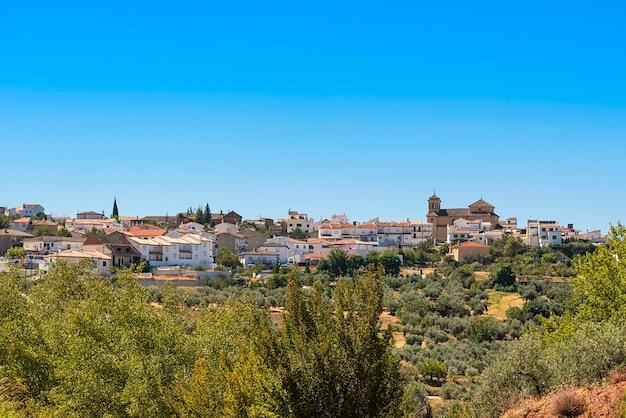 Nivar, małe miasteczko w prowincji granada
