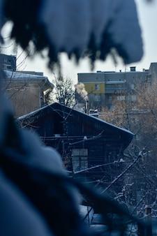 Niżny nowogród. ulica z piękną starą architekturą