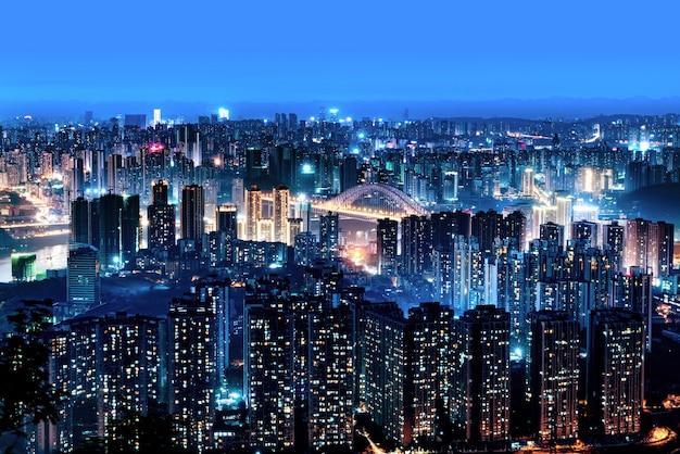 Nocna scena chongqing
