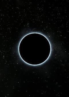 Nocny widok galaktyki