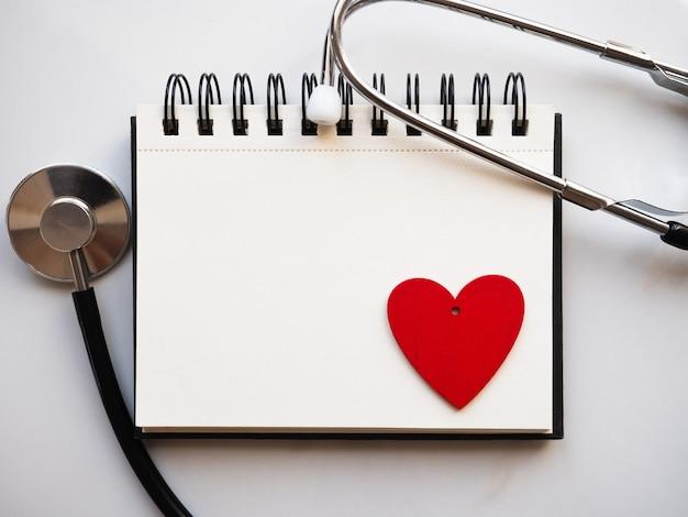 Notes z rysunkiem w kształcie serca