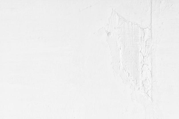 Nowa biała ściana betonowa z pękniętą teksturą tła grunge cement wzór tekstury tła