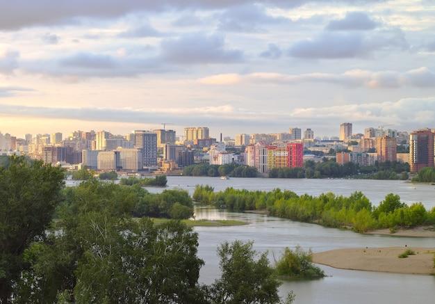 Nowa dzielnica nowosybirska na ob