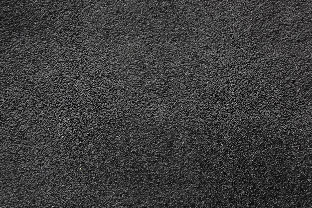 Nowa gładka czarna droga asfaltowa