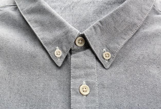 Nowa koszula męska, zbliżenie