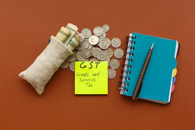 Nowa waluta i podatek od towarów i usług, podatek gst