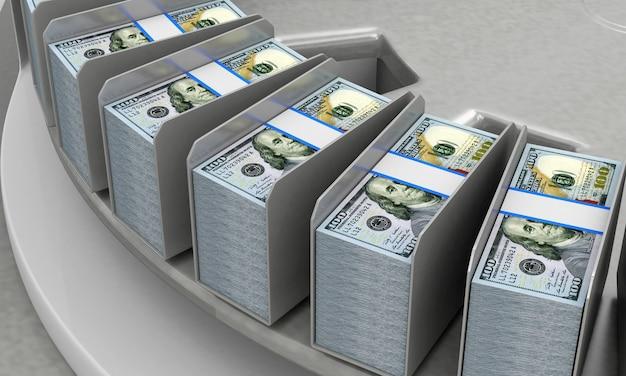 Nowe dolary na przenośniku