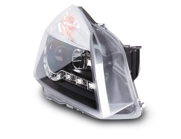 Nowe reflektory samochodowe z soczewkami